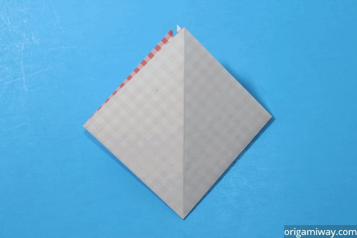How to Make an Origami Basket Step 8
