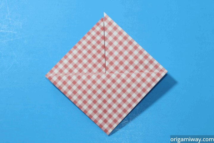 How to Make an Origami Basket Step 9-2