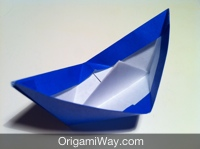 Follow The Steps Below To Make This Origami Paper Boat Difficulty Medium