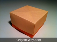 Craft of the Day | Paper box diy, Diy paper, Origami box | 149x200