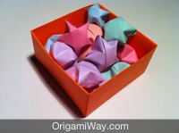 DIY Origami Gift Box Paper Craft | 149x200