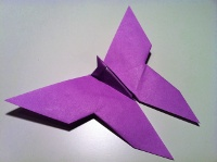 Origami Butterfly Instructions And Diagrams