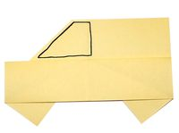 How To Make An Origami Car With Instructions
