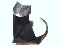 Origami Cat Instructions And Diagram