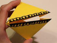 Origami Chomper Difficulty Medium
