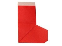 Origami Christmas Stocking Instructions