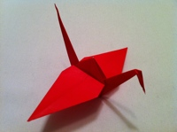 Origami Crane Follow The Steps Below To Make