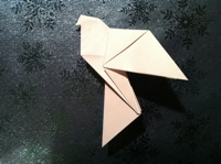Origami Dove Instructions And Diagrams