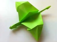 Simple Origami Dragon : 18 Steps (with Pictures) - Instructables | 149x200