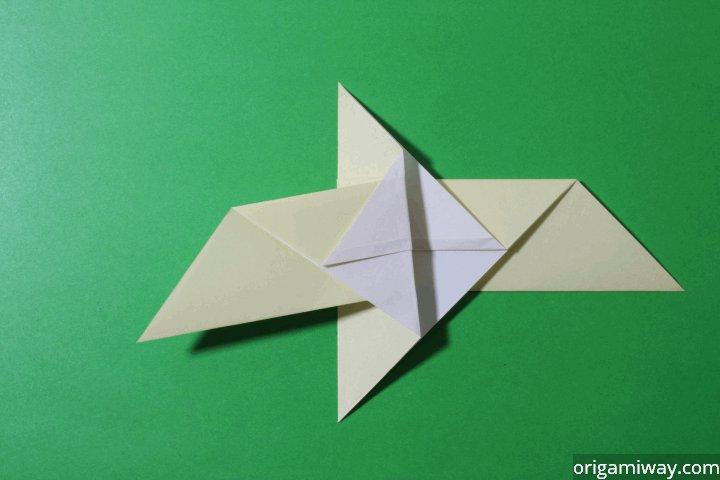 KF_4860] Origami Parrot Diagram | 480x720