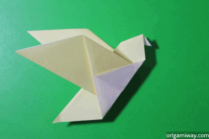 How To Make A Bird Origami