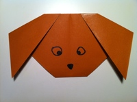 Very Easy Origami Frog