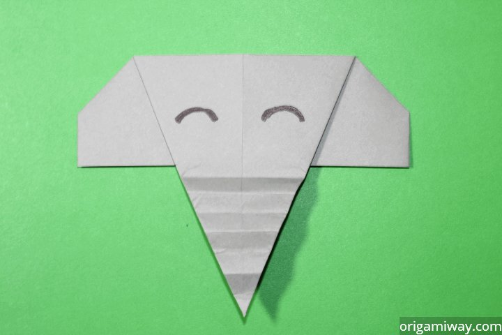Easy Origami Elephant Difficulty