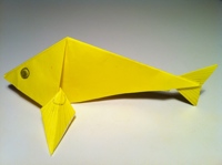 25 Excellent Origami Fish Just for the Halibut | 149x200