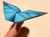 How To Make An Origami Butterfly That Flaps