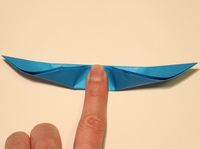 How to Make an Origami Butterfly Step 6-1