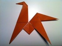 Follow The Steps Below To Make This Handsome Origami Horse Difficulty Easy Medium