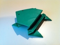 Origami Jumping Frog Instructions And Diagrams