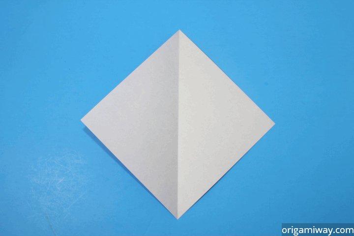 Origami Kite Base Video Tutorial *HD* - YouTube   480x720