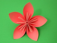 How to make paper flowers easy origami flowers instructions easy origami flower mightylinksfo