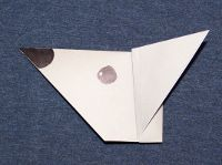 Origami Mouse Head