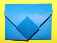 How to Make an Origami Paper Envelope - photo#13