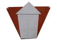 Origami Horse Head Step 10