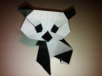 Origami Panda Difficulty Medium