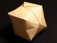 how to make a paper balloon origami instructions