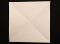 How to Make a Paper Balloon Step 3-2