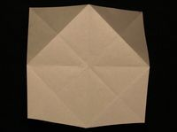 How to Make a Paper Fortune Teller Step 6-1