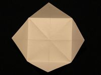 How to Make a Paper Fortune Teller Step 8-1
