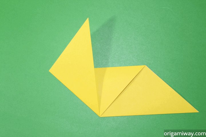 how to make an origami pikachu step by step