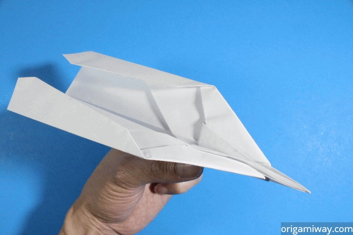 Infinity Arrow Paper Airplane