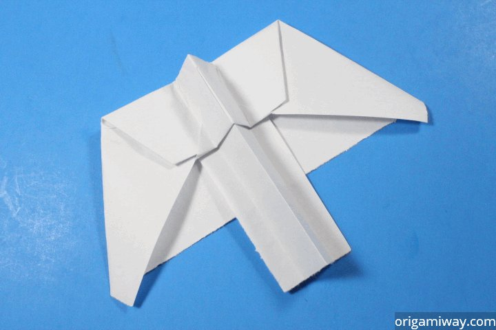 Pteroplane paper airplane for How to make a paper design