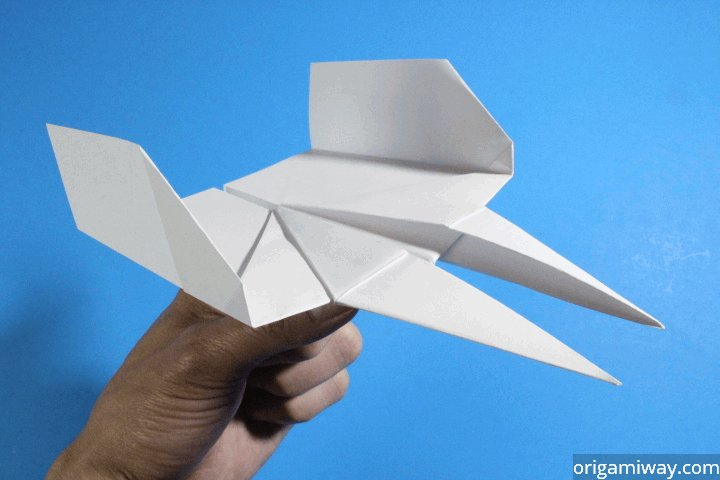 the right way of making a paper airplane Fold the top right corner over to the left side, making a fold from the top of the paper to the bottom right corner unfold the paper and repeat for the left corner unfold the paper again and fold the top right corner over to meet the crease made from the first fold.
