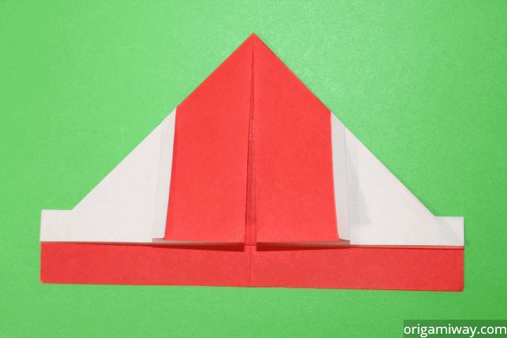 How To Make An Origami Santa Claus - YouTube | 480x720