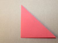 This is how to make a simple origami flower simple origami flower step 3 mightylinksfo