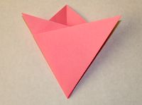 This is how to make a simple origami flower simple origami flower step 6 mightylinksfo