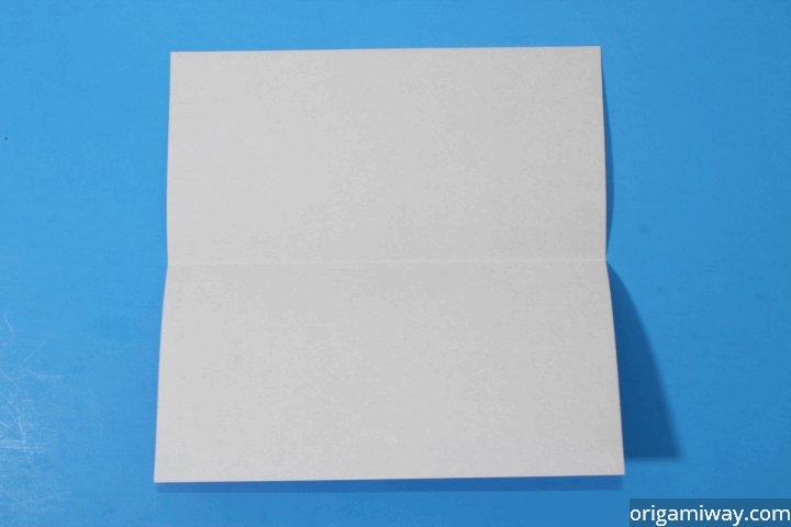 Origami Squash Fold Instructions
