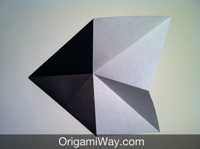 Origami Transforming Ninja Star With 8 Points