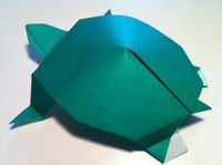 How To Make Turtle Origami