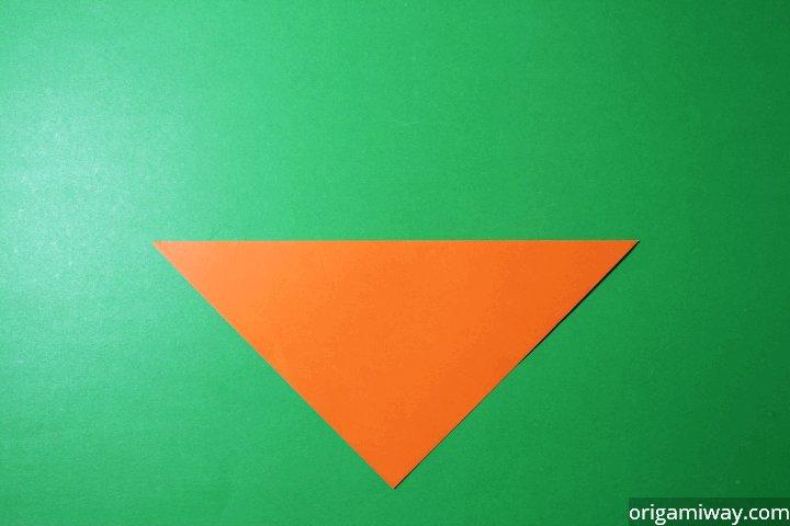 Very Easy Origami Fox