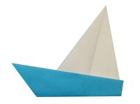 Origami Yacht Step 4-2