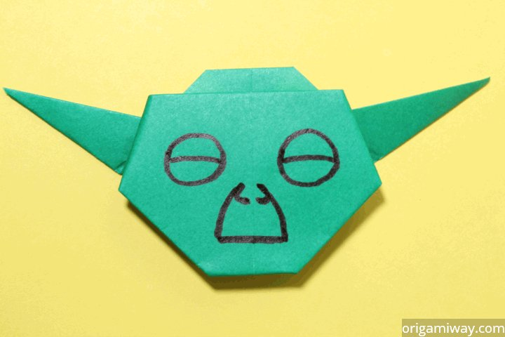 Origami Yoda II: Darth Paper Strikes Back! Folding Instructions + ... | 480x720